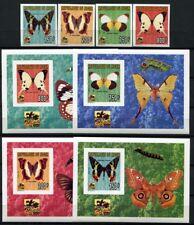 Schmetterlinge 1996 Niger Pfadfinder Scouts 1186-89 U + Blocks U Imperf MNH /168
