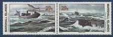 Marshall Islands 1992 World War 2 WW II Scott 318-19 Convoy PQ-17 U-Boat W46 NH