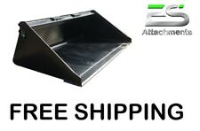 Es New 78 Smooth Bucket For Skid Steer Quick Attach Loader Free Shipping