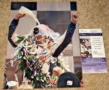 DAN WHELDON SIGNED 2011 INDY 500 8X10 PHOTO INDIANAPOLIS WINNER *RARE* JSA A