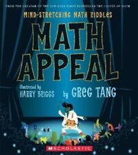 Math Appeal: Mind-Stretching Math Riddles by Tang, Greg Hardcover w/ jacket NEW