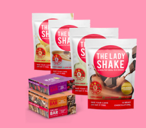 The Lady Shake  Healthy Meal Replacement Weight Loss PACK  Shake