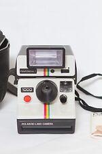 RETRO SX70 Polaroid 1000 Land Instant Camera & Polatronic Flash