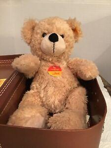Steiff Bear in a travel Box