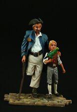 Elite: Pirates Of The Caribbean: Treasure Island, Tin toy soldier 54 mm, metal