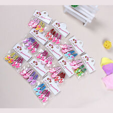 Magic Kids Girls Hair Clips Mixed Assorted Slides Hair Jewelry Random Pattern CC