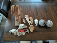 Huge lot vintage Resin From the Grave parts pieces molds bases etc