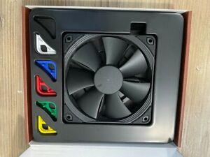 Noctua NF-F12 PWM chromax.black.swap, Premium Quiet Fan, 4-Pin (120mm, Black)