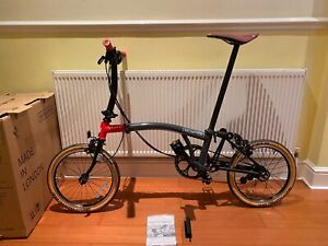 Brompton CHPT3 S6E v1 6 Speed Superlight Limited Edition 📦 🌎 ONLY 500 MADE!!