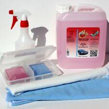KFZ Pflege SET Reinigungsknete BOX 400g Gleitmittel 5l Lackreiniger Lackknete