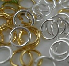 400pcs Mixed Gold Plated Silver Jump Rings Fit Bracelet  Jewellery Findings 5mm