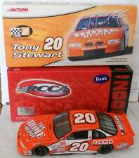 2000 TONY STEWART #20 HOME DEPOT RCCA 1:24 CLEAR WINDOW BANK