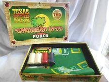 CARRIBBEAN STUD POKER TEXAS HOLDEM FELT GAME TABLE PLUS #5042