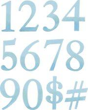 Sizzix Stanzschablonen Stanzformen  Alphabet Numbers Buchstaben Zahlen
