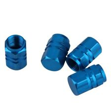 4pcs Blue Wheel Tyre Tire Valve Stems Air Dust Cover Screw Caps AUSTRALIA STOCK