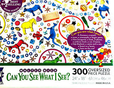 Can You See What I See 300 Oversized Piece Puzzle Walter Wick Search & Solve