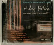 Finding Victory Over Fear Stress and Anxiety 10 Minute Devotions 2017 CD New