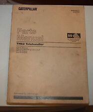 Caterpillar TH62 Telehandler Parts Manual June 2002