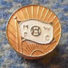 MONTEVIDEO WANDERERS FC URUGUAY FOOTBALL SOCCER 1970's BUTTONHOLE PIN BADGE