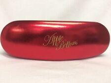 Apple Bottoms Eyeglass/Sunglass Case New Red/Black