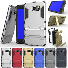 Hybrid Shockproof Rugged With Stand Case Cover For Samsung Galaxy Note 4 5