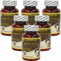 6 Joint Flex Glucosamine+Chondroitin+MSM+Collagen+Boswellia 120 CT,1 Year Supply