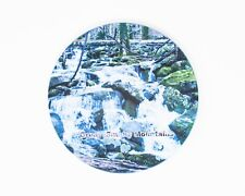 Great Smoky Mountains Waterfall Sandstone Coaster, Hand Imprinted Photo