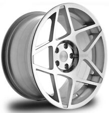 "20"" 3SDM 0.08 SILVER ALLOY WHEELS FIT BMW 3 SERIES 4 SERIES 5 SERIES F10 X5 E53"