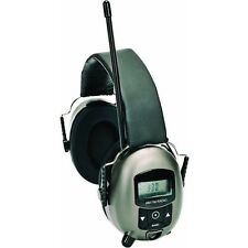 AM FM Radio MP3 Work Tunes Earmuff Hearing Sound Protector Protection MSA Safety