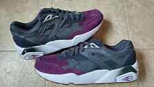 NEW PUMA R698 BLOCKED MEN'S ATHLETIC SHOES Gray/Purple 359288-04SIZE 9