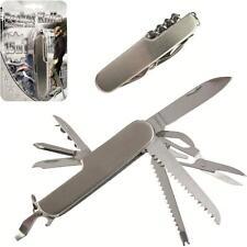 Couteau multifonction genre couteau suisse 15 en 1 - Canif, scie, lime... NEUF