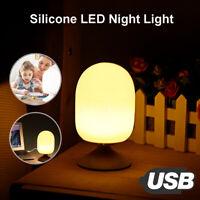Night Light Led USB Kids Child Safety Table Lamp Desktop Bedroom Bedside Decor