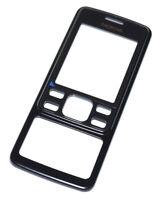 Original Nokia 6300i vorderes Gehäuse, Front Cover, Schwarz, black