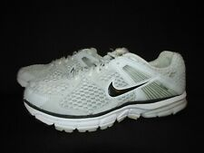 Nike Structure 14 Flywire Gray White Black Running Shoes Women's 9.5M 443850-001