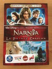 dvd disney Le Monde De Narnia Chap 2 Prince Caspian Édition Collector + Figurine