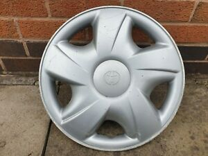 "Single Toyota Hiace Van 15"" Wheel Trim Hub Cap x1 Genuine Used Part"
