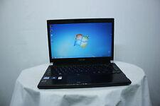 """Fast Laptop Toshiba Portege R830 13.3"""" i5 4GB 250GB Windows 7 Webcam Warranty"""