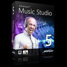 Ashampoo Music Studio 5 deutsche Vollvers.lifetime Download 7,99 statt 29,99