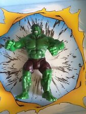 The Incredible HULK Movie Smash And Crush HULK figure. Marvel Legend loose. 2002