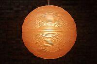 70er Jahre DECKENLAMPE LEUCHTE LAMPE Ball LAMP Vintage Deckenleuchte Lampion