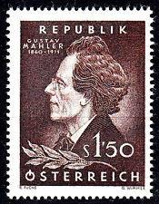1078 postfrisch Österreich Jahrgang 1960 Gustav Mahler Tschechien Komponist