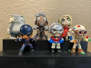 Funko Mystery Minis The Suicide Squad Harley Red Dress 1/72 Ratcatcher Polka Lot