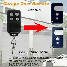 Gate Door Garage Remote Control Key 433MHz For Chamberlain Motorlift 84335 AML