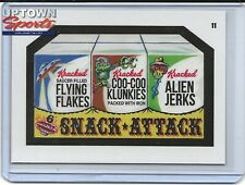 2020 Topps On-Demand Set #1 Mars Attacks Wacky Packages - CARD 11 SNACK ATTACK
