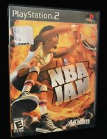 NBA JAM Complete In Box W/ Manual For PlayStation 2 *TESTED