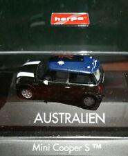 Herpa - Mini Cooper S - Roof Flag Australien  - 1:87 -  OVP - Art. 101479