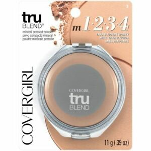 CoverGirl TruBlend Mineral Pressed Powder 1-2-3-4 Choose Your Shade Discontinued