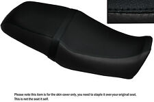 BLACK STITCH CUSTOM FITS YAMAHA SRV 250 DUAL LEATHER SEAT COVER