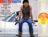"BRUCE SPRINGSTEEN cover me (original uk) 12"" PS EX/VG+ QTA 4662 soft rock 1984"