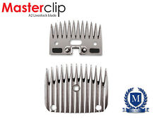 Masterclip A2 Livestock Clipper Blades For Cattle, Sheep, Alpaca Fit Lister